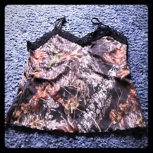 Other - Camo Lingerie Camisole